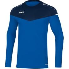 JAKO Langarmshirt Sweat Champ 2.0 blau/marine Herren