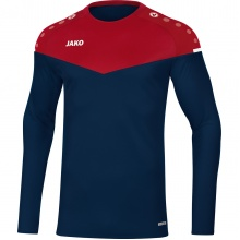 JAKO Langarmshirt Sweat Champ 2.0 marine/rot Boys/Girls