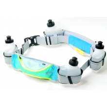 Nike Running Hydration Belt 4 Bottle grau