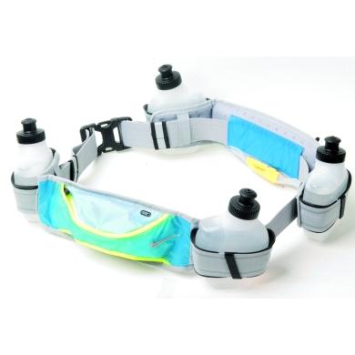 Nike Running Hydration Belt 4 Bottle grau