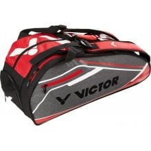 Victor Racketbag 9119 Doublethermo 2019 grau/rot 12er