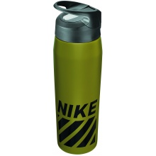 Nike Trinkflasche SS Hypercharge Straw 709ml olive