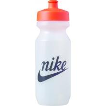 Nike Trinkflasche Big Mouth Just Do It 650ml transparent/schwarz/orange