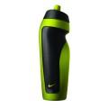 Nike Trinkflasche schwarz/grün