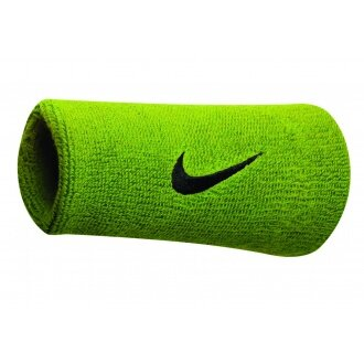 Nike Schweissband Swoosh Jumbo atomic grün 2er
