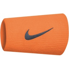 Nike Schweissband Swoosh Jumbo orange 2er