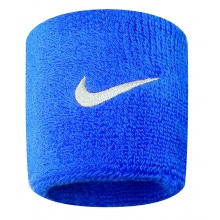 Nike Schweissband Swoosh (72% Baumwolle) royal - 2 Stück