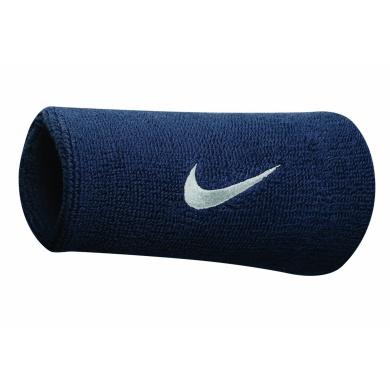 Nike Schweissband Swoosh Jumbo obsidian 2er