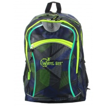 Wheel Bee Rucksack Multicolor 2017 blau/grün