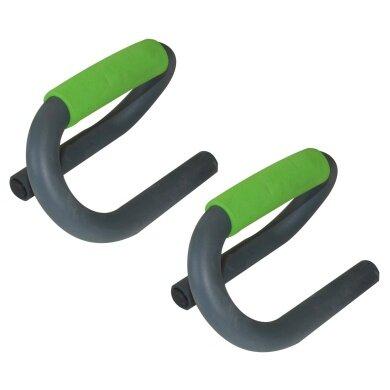 Schildkröt Fitness Push Up Bars (max. 120kg) - Set mit 2 Liegestützengriffen