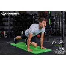 Schildkröt Fitnessmatte rutschfest grün (180x61x1,5cm)