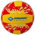 Beachvolleyball Neoprene gross rot/gelb