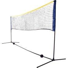 Schildkröt Netz Federball höhenverstelbar bis 1,55m - Breite 3 Meter