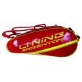 Li Ning Racketbag Pro Badminton rot 6er