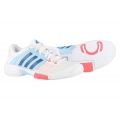 Adidas Barricade Club 2016 weiss/blau Indoor-Tennisschuhe Damen