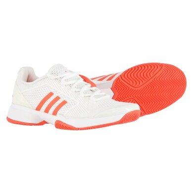 Adidas aSMC Barricade 2016 weiss/orange Tennisschuhe Damen