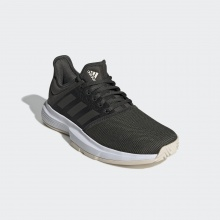 adidas GameCourt Clay 2019 olivegrün Tennisschuhe Damen