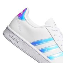 adidas Grand Court Leder 2020 weiss/silber Sneaker Damen
