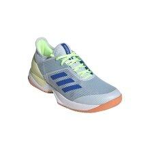 adidas Adizero Ubersonic 3 hellblau Allcourt-Tennisschuhe Damen