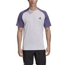 adidas Tshirt Club Color Block 2020 flieder/violett Herren