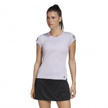 adidas Shirt Club 3 Stripes 2020 flieder Damen