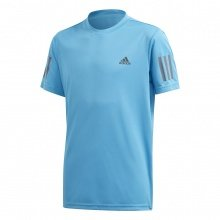 adidas Tshirt Club 3 Stripes 2020 blau Boys