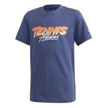 adidas Tshirt Tennis dunkelblau Jungen