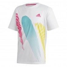 adidas Tennis-Tshirt Seasonal weiss Herren