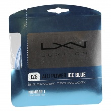 Luxilon Alu Power 1.25 iceblue Tennissaite