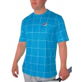 Fila T-Shirt Grid blau Herren (Größe S)