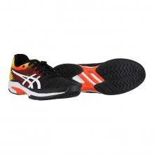 Asics Solution Speed FF Allcourt schwarz/rot Tennisschuhe Herren