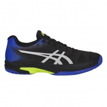 Asics Solution Speed FF Allcourt schwarz/blau Tennisschuhe Herren