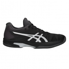Asics Solution Speed FF Clay schwarz/grau Tennisschuhe Herren