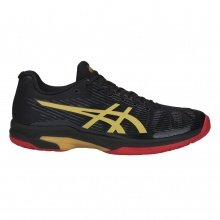 Asics Solution Speed FF Allcourt Limited Edition schwarz Tennisschuhe Herren