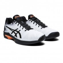 Asics Solution Speed FF Carpet 2019 weiss/schwarz Indoor-Tennisschuhe Herren