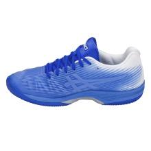 Asics Solution Speed FF Clay blau/weiss Tennisschuhe Damen