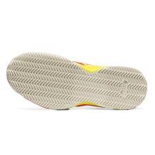 Asics Gel Challenger 12 Clay laserpink/gelb Tennisschuhe Damen