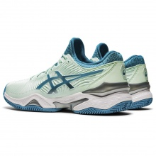 Asics Gel Court FF 2 Clay 2020 mint/türkis Tennisschuhe Damen