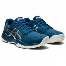 Asics Gel Game 7 Clay dunkelblau Sandplatz-Tennisschuhe Kinder