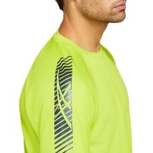 Asics Lauf-Tshirt Icon lime Herren