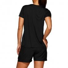 Asics Lauf-Shirt Silver 2021 schwarz Damen