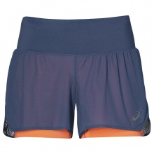 Asics Short 2in1 2019 grau Damen