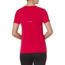 Asics Shirt Trainin Texture Seamless (nahtlos) rot Damen