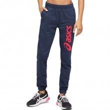 Asics Jogginghose (Sweat Pant) Big Logo 2020 peacoatblau/pink Jungen/Mädchen