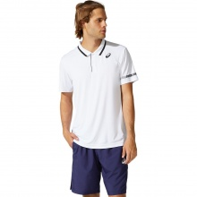 Asics Tennis-Polo Court 2021 weiss Herren