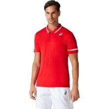 Asics Tennis-Polo Court 2021 rot Herren