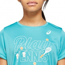 Asics Shirt Tennis GPX 2020 türkis Girls