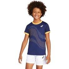 Asics Tshirt Tennis GPX 2021 dunkelblau Boys