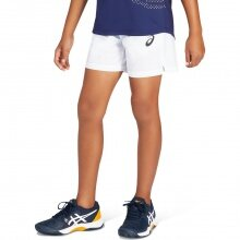 Asics Tennishose Short 2021 kurz weiss Jungen