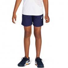 Asics Tennishose Short 2021 kurz dunkelblau Jungen